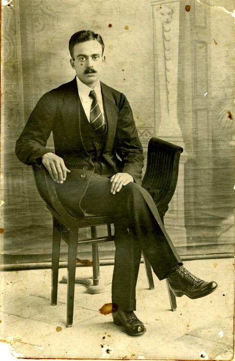 משיח חכימזאדה, כרמאנשאה, 1920.