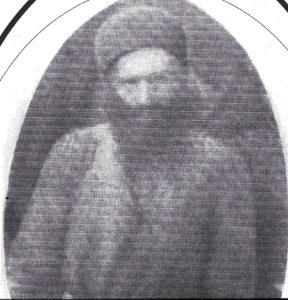 האג'י (חאג'י) יצחק הסקאל  כהן-יזדי (1927-1866), אביו של משה חי כהן יזדי-הארוני, כרמאנשאה, תצלום משנת 1909