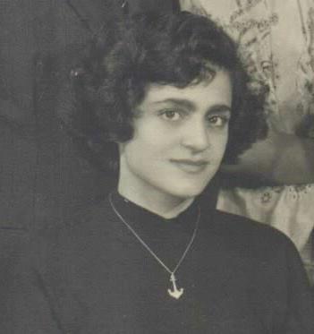 הלן משולם-אהרוני (הארוני), ישראל, 1955.